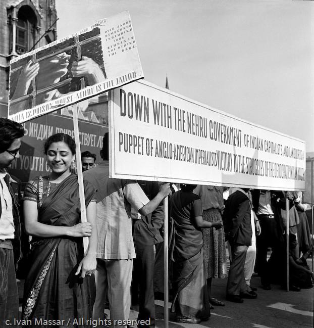 International Communist Youth Peace Festival. Budapest, Hungary, 1950.