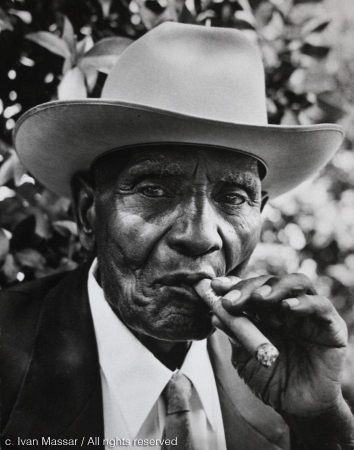 John Wade, on his 100th birthday. Houston, TX, 1958