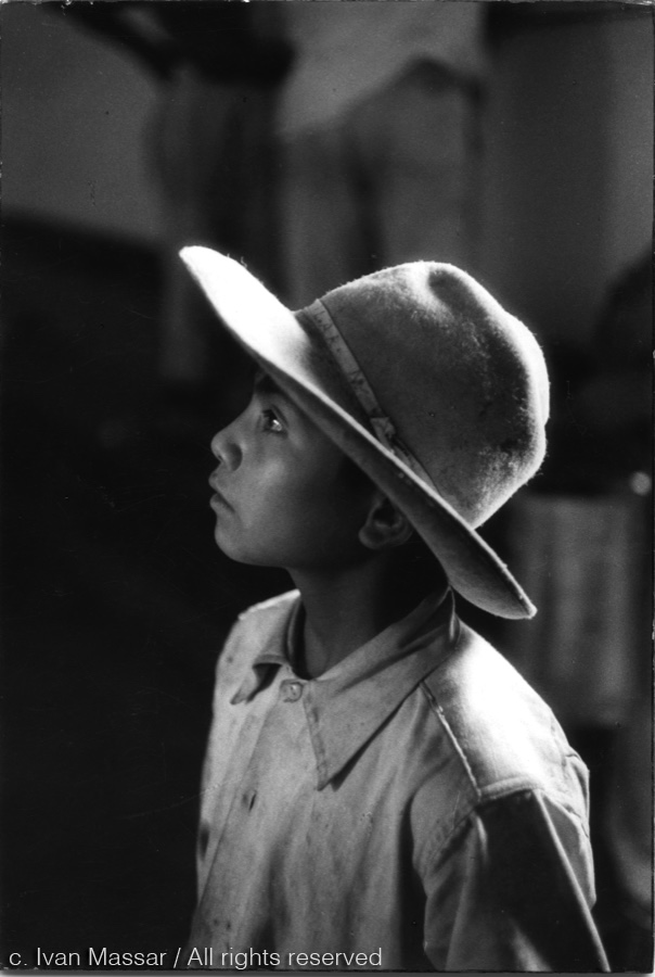 Young Boy.  Mexico, 1956