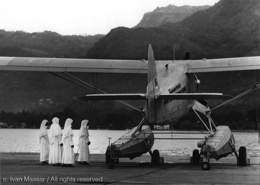 First Encounter.  Seychelles Islands, 1959.
