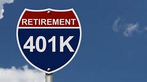401K retirement sign