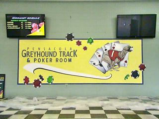 Pensacola Dog Track Entrance