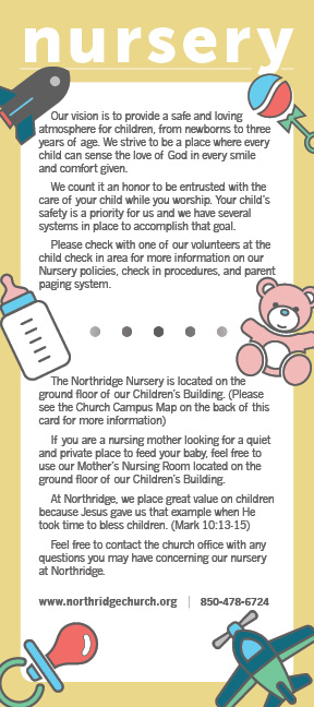 Nursery Connect Card