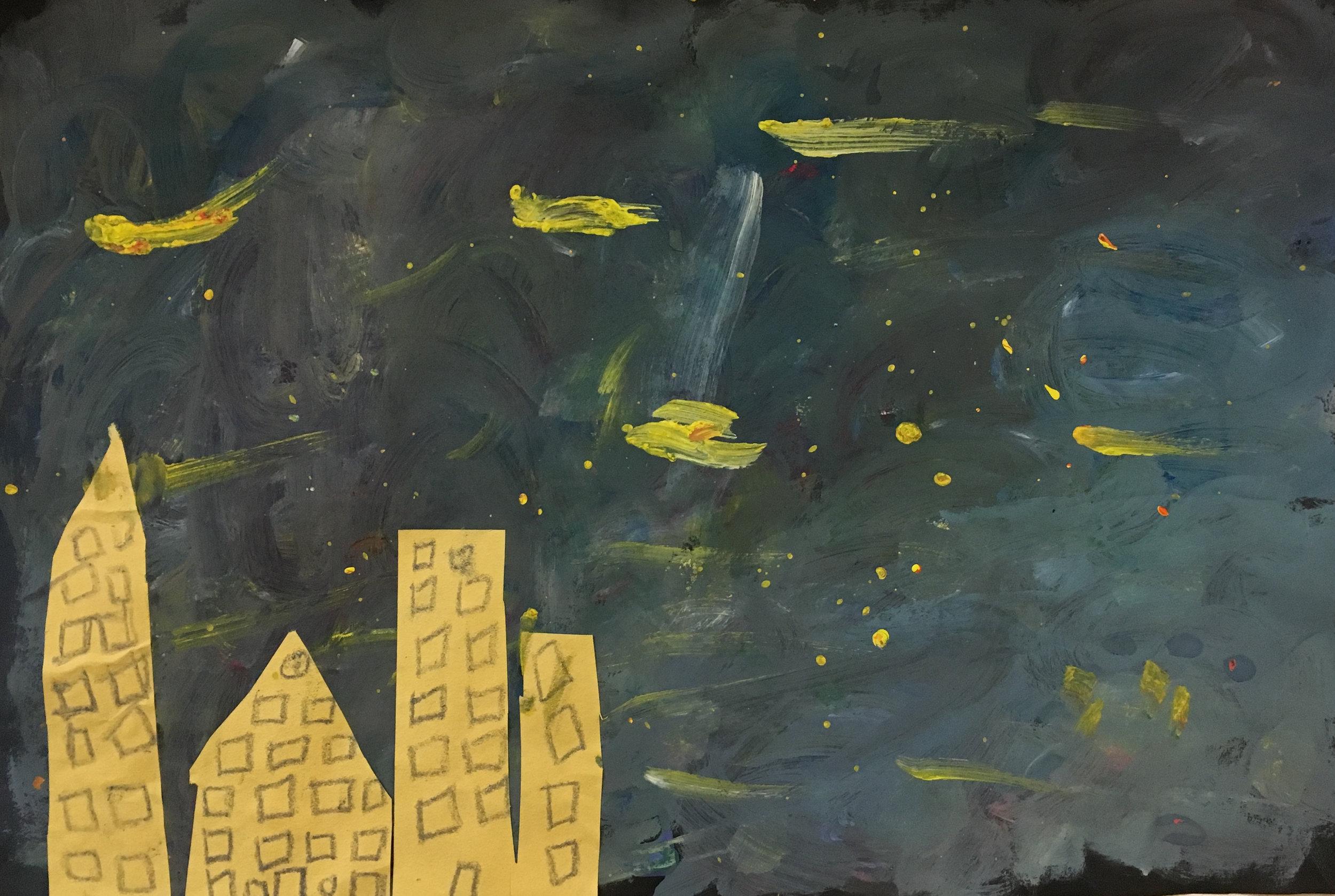 Student Work, Van Gogh Study Series