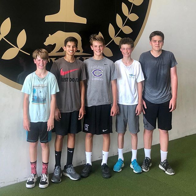 "And then there was five.. another 10 week Carlsbad Break Baseball performance program in the books. ""If it was easy... everyone would be doing it"".. cliche, but so true.  Incredibly proud of these boys for their perseverance and dedication.  It's always a pleasure working with you boys.  Keep up the good work.  #TYMEperformance #CarlsbadBreak"