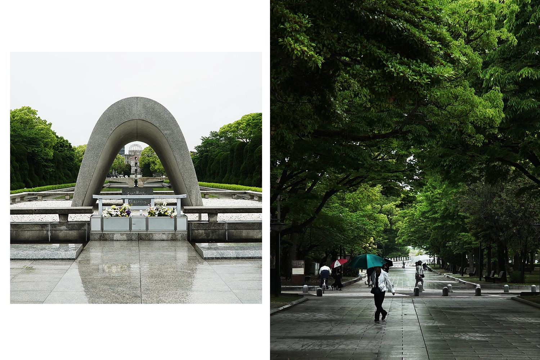 Both: Hiroshima Peace Memorial Park