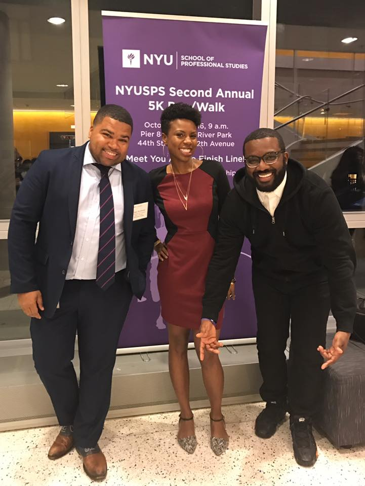 Among the employer participants, Gary was joined by fellow Hampton University Alumni, Mia Hall and Rashad Drakeford.