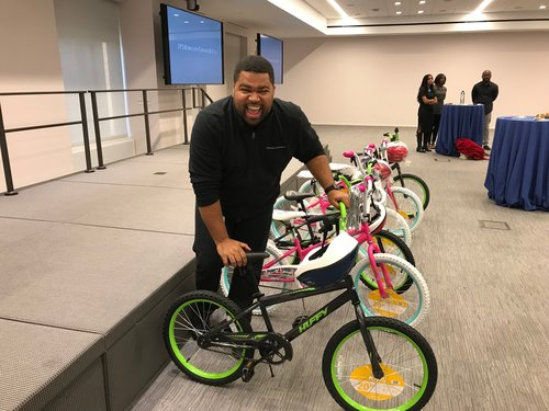In partnership with The Leader's Institute benefiting the YMCA, the Boys and Girls Club, and the Lebron James Family Foundation, I helped to build over 175 bikes for children across North America.