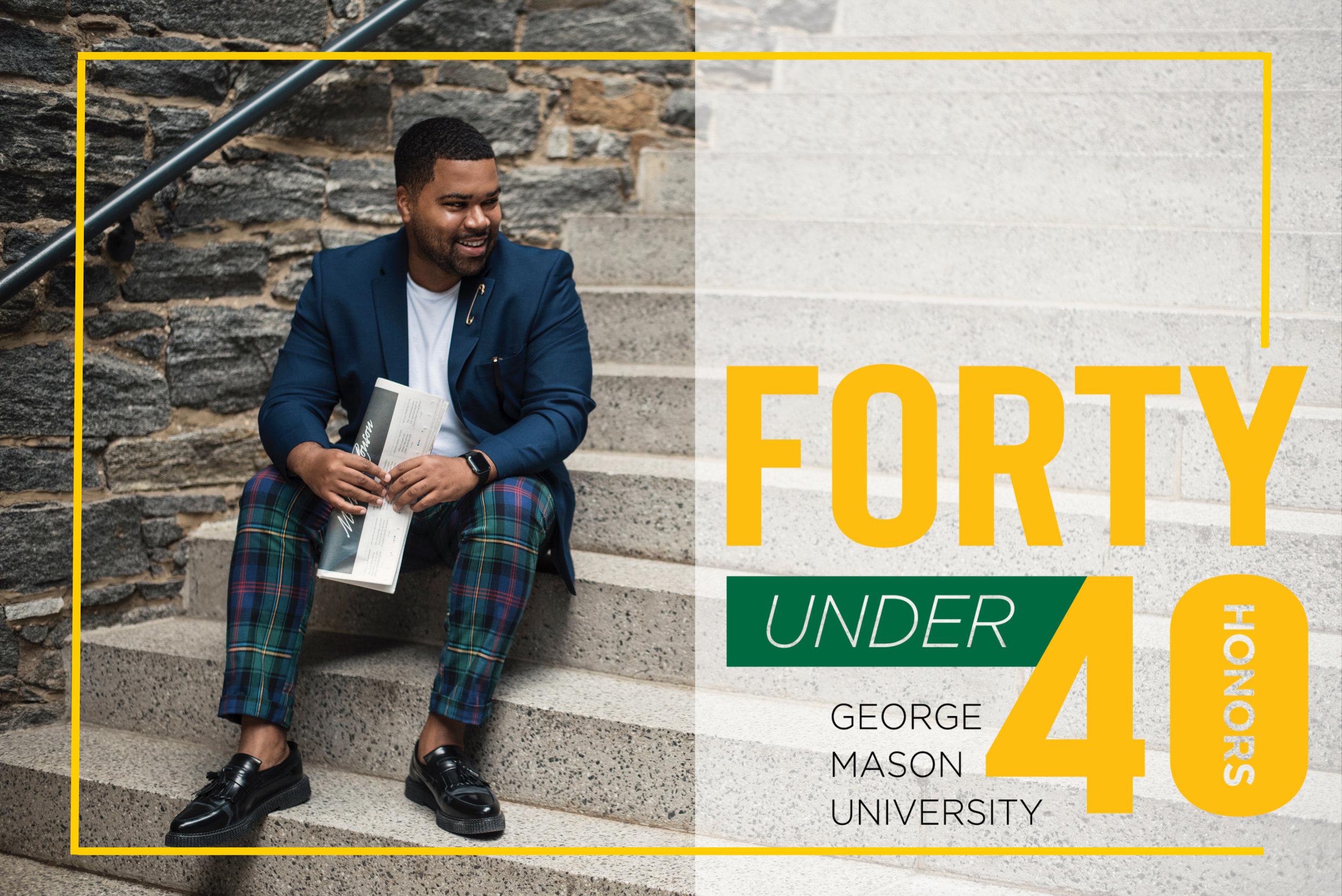 Gary Bushrod George Mason Forty under 40