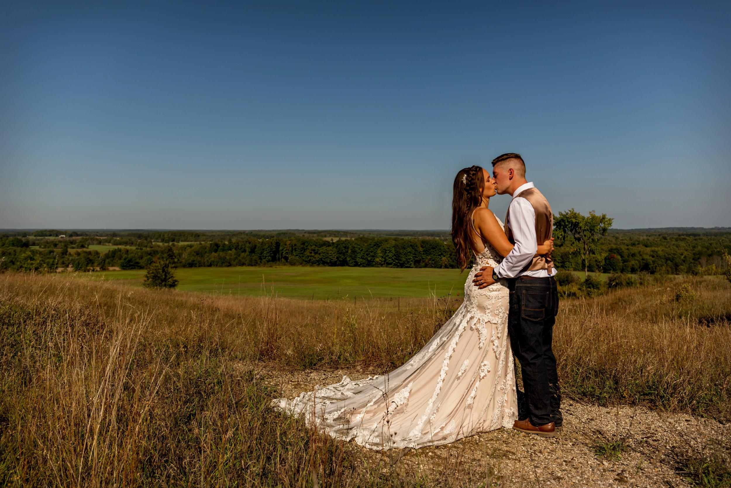 Brettschneider Wedding 9.15.2018 Manton, Michigan.