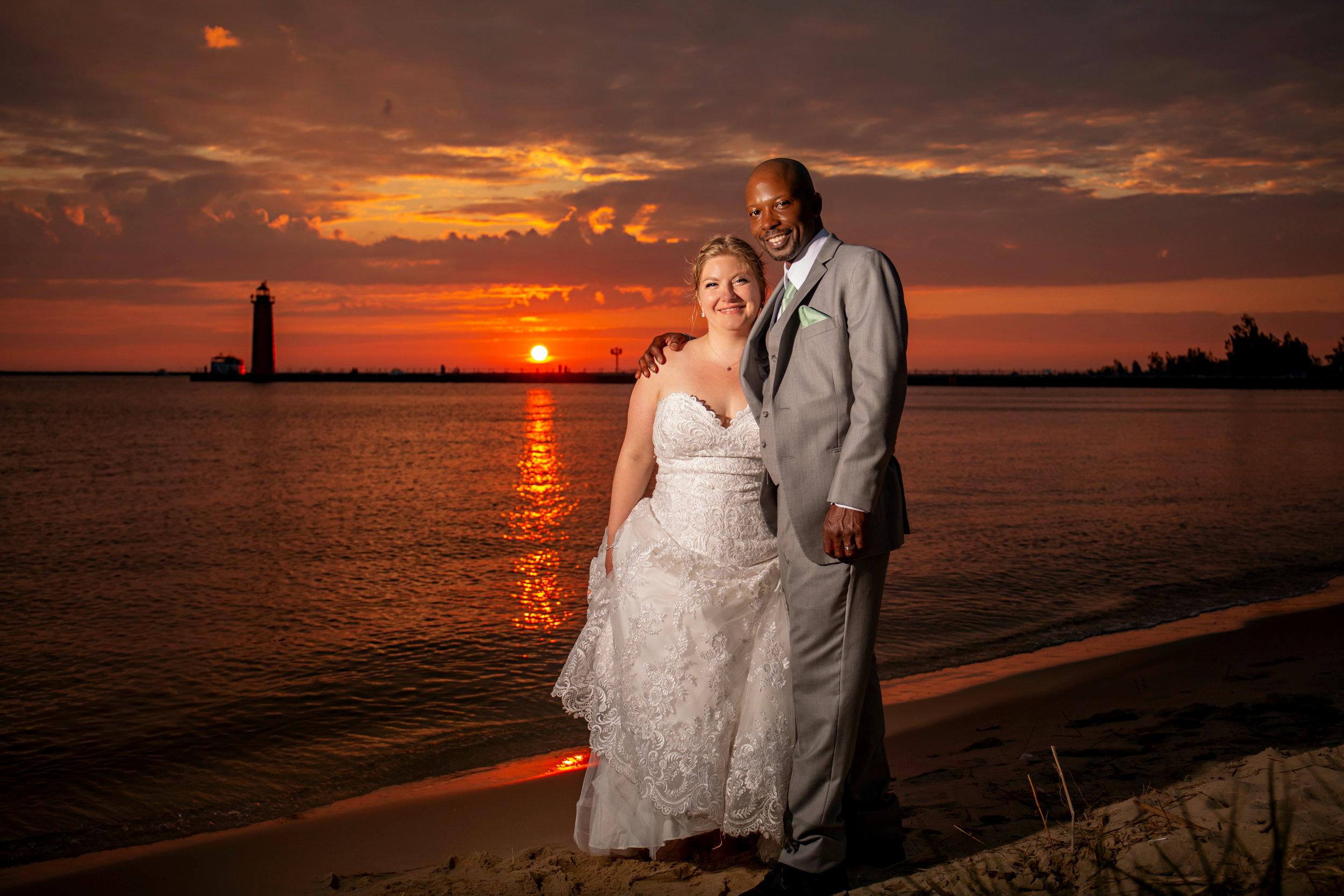 Chambers Wedding 7.6.2019 Muskegon, Michigan.