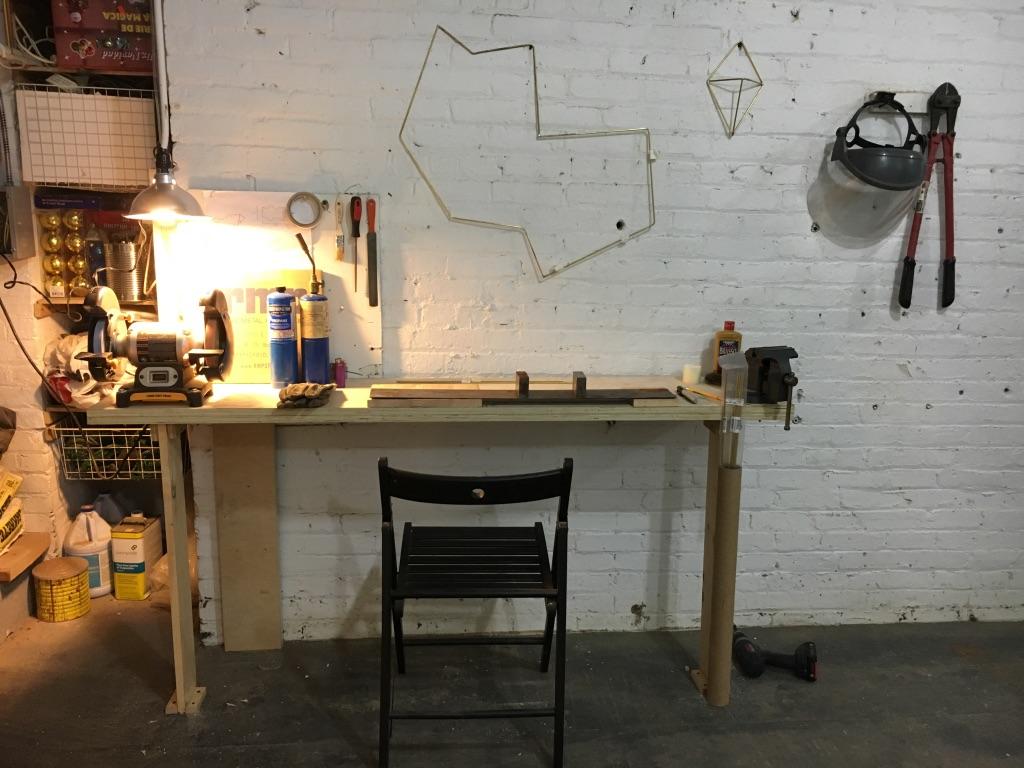 Work Station Joe Built For Me!