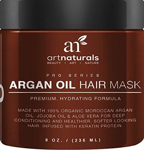 Art Naturals Argan Oil Hair Mask Deep Conditioner 8 Oz 100 Organic Jojoba Oil International Pharmacy