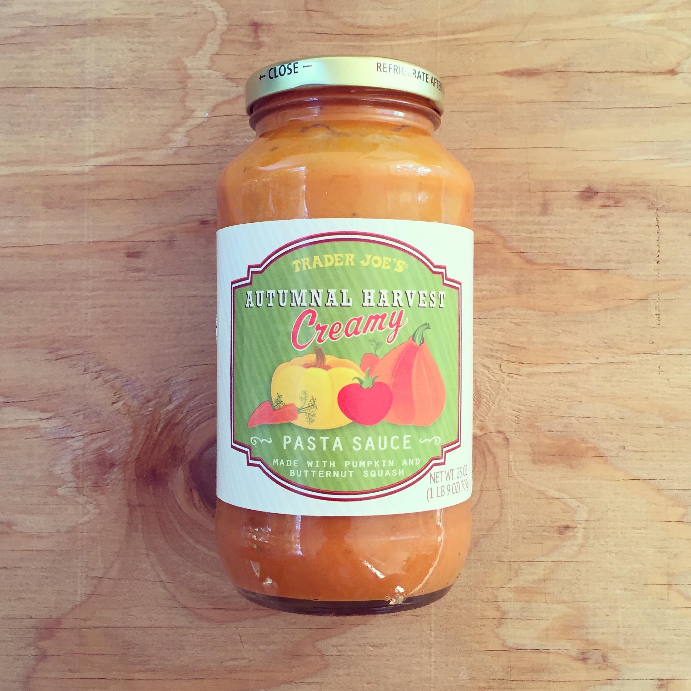 Trader Joe's Autumnal Harvest Sauce - Seasonal*