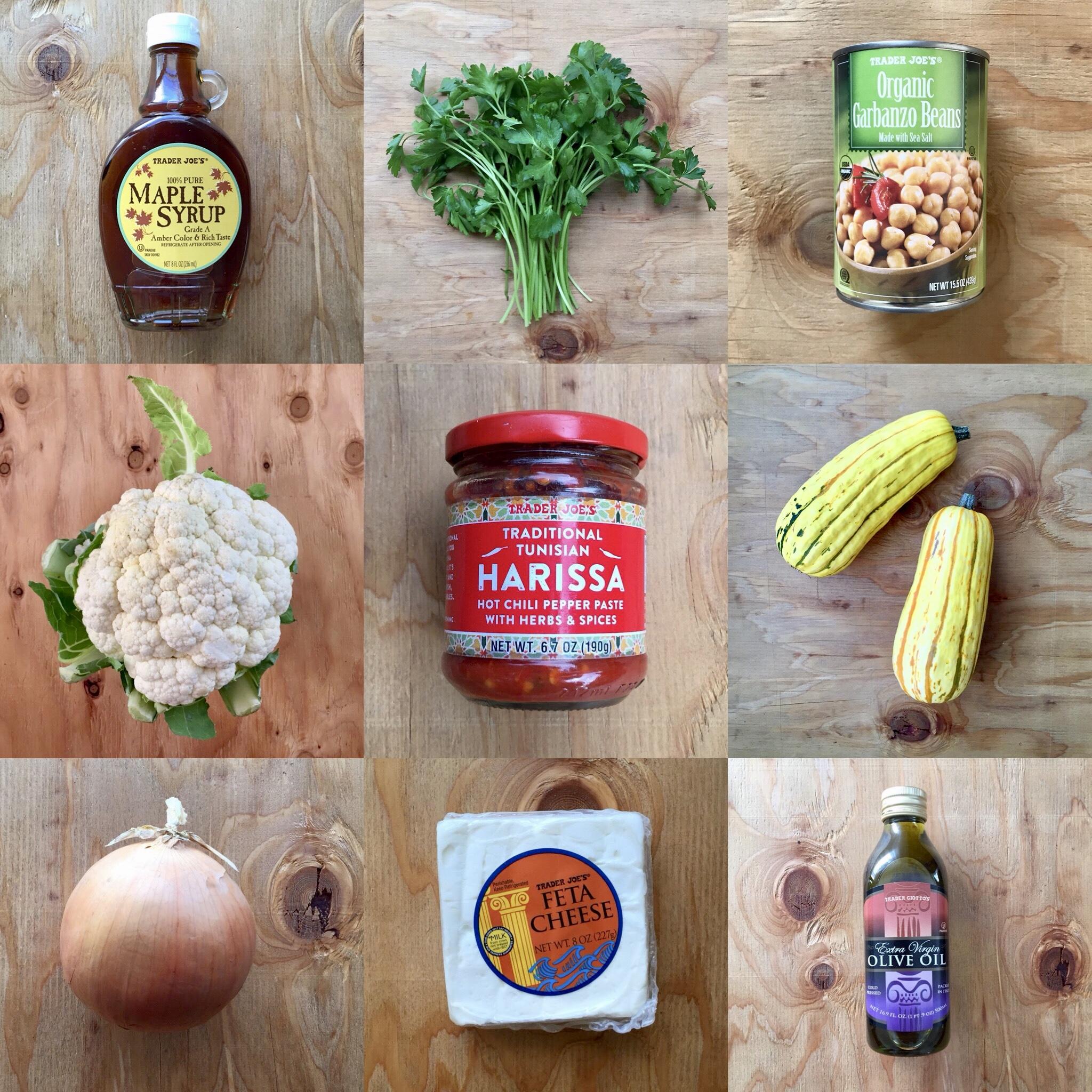 Harissa Roasted Cauliflower, Delicata & Chickpeas.jpg