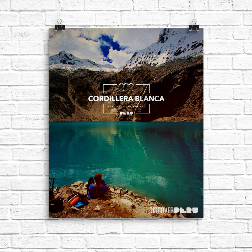 A trio of posters/magazine ads for the  Peru Nation Branding  project.