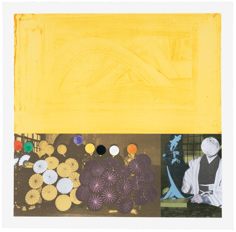 Cliché: Japanese (Yellow) , 1995 Publisher: Cirrus Editions, Edition of 50.  ©John Baldessari