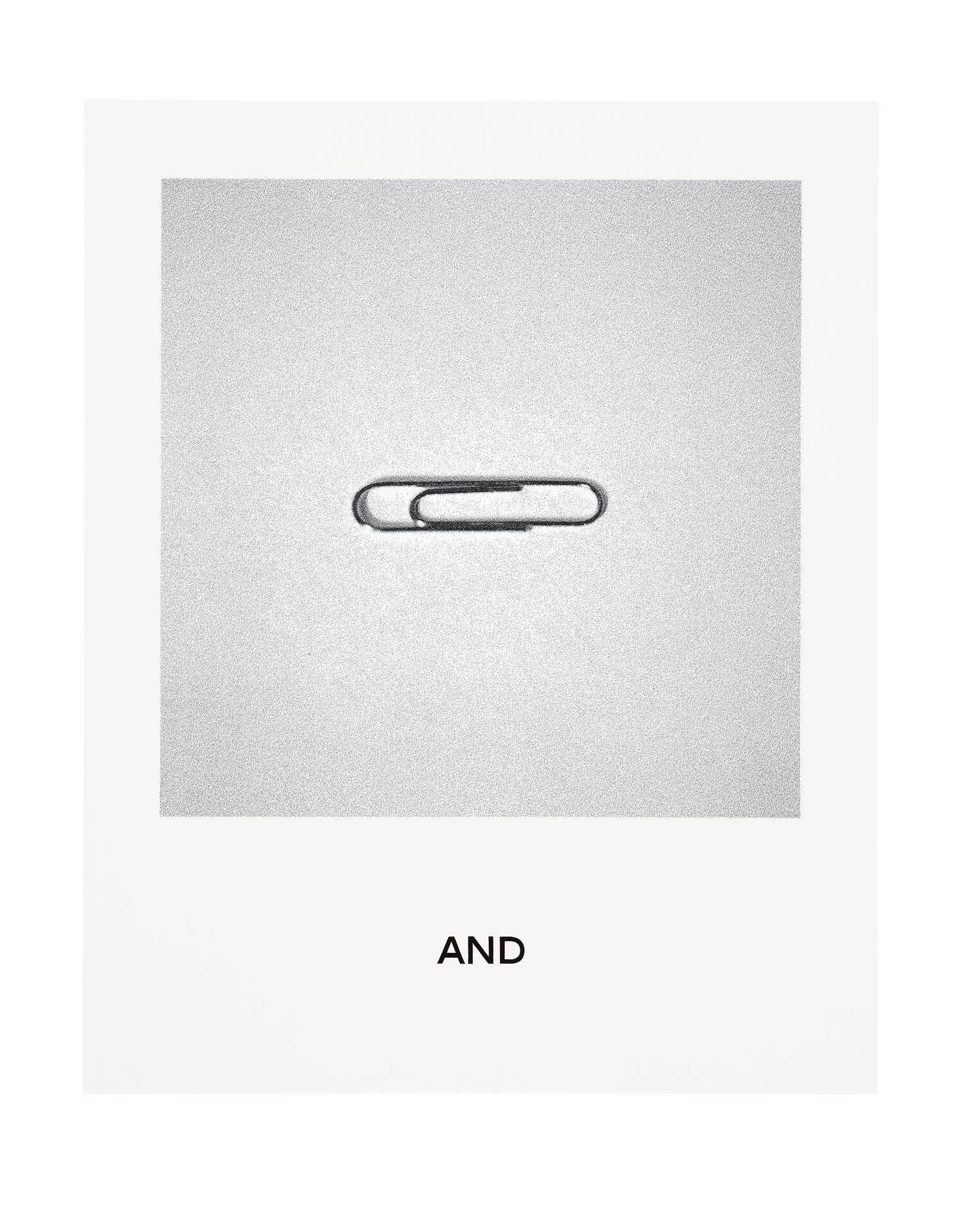 Goya Series: AND,  1997  ©John Baldessari