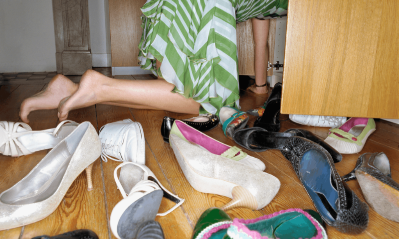 Read this article!  The secret to spring cleaning: don't just organize your stuff – get rid of it