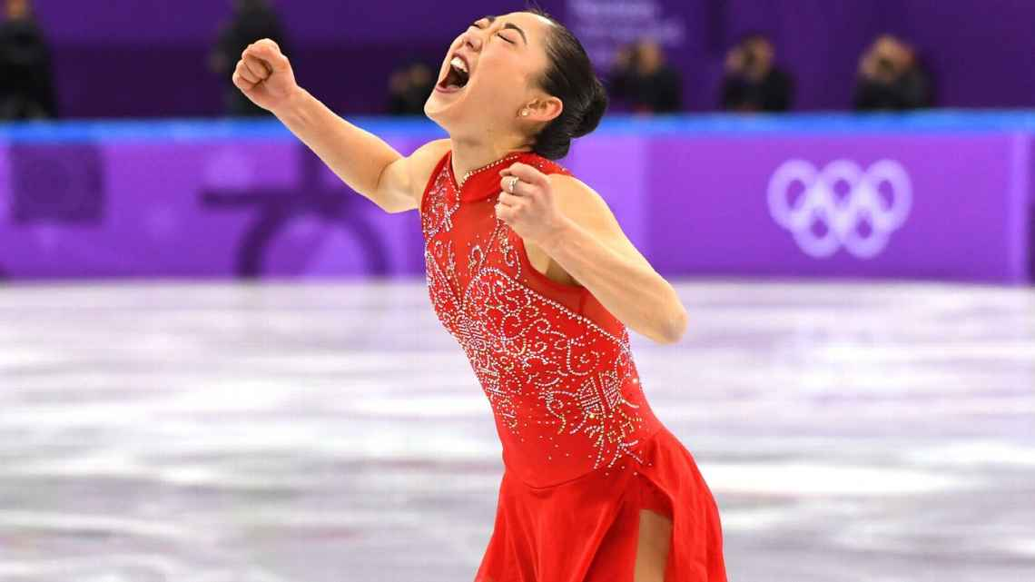 Mirai Nagasu has become the first American woman -- and third overall -- to land a triple axel in the Olympics, accomplishing the rare feat in the women's free skate at the team competition in Pyeongchang.