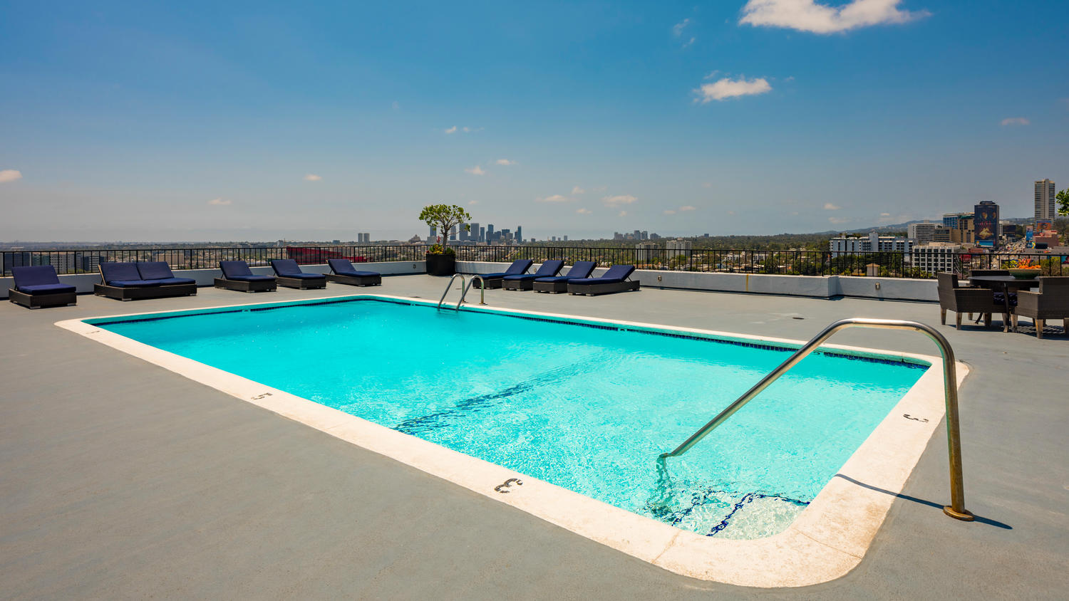 Rooftop Pool Area