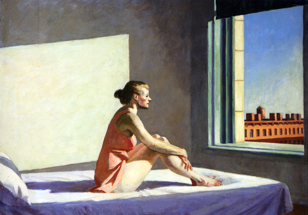 Morning Sun by Edward Hopper, 1952