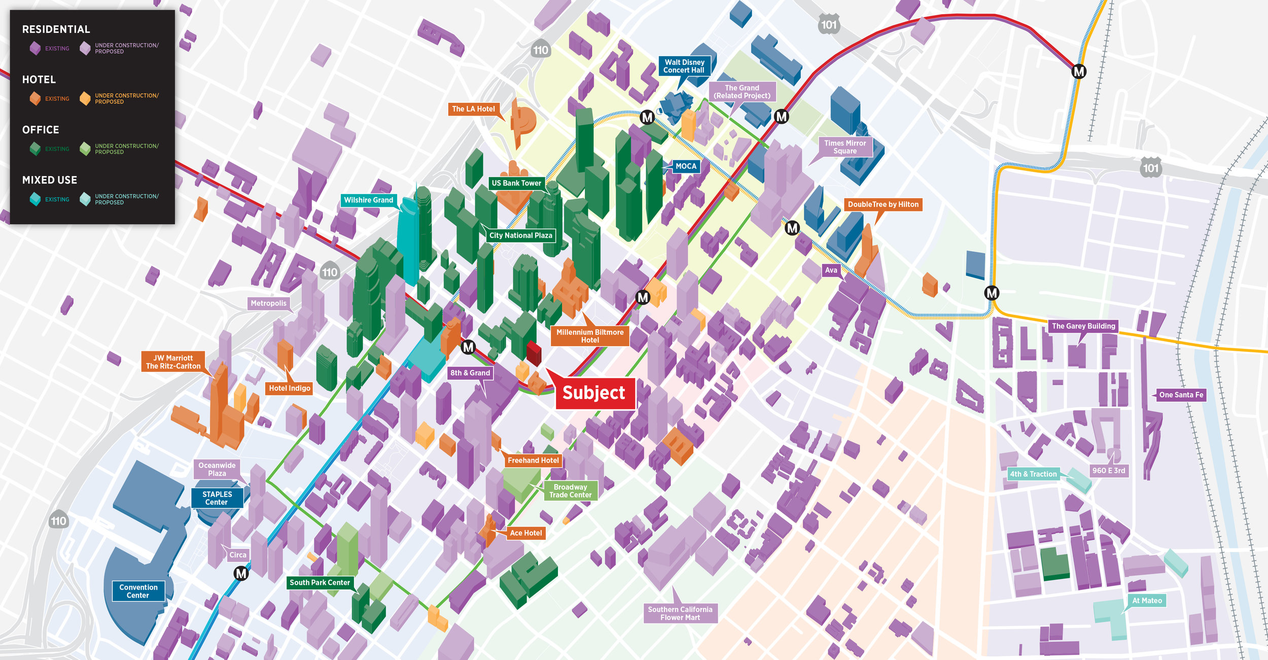 DTLA Downtown Los Angeles CA 3D Buildings Map.jpg