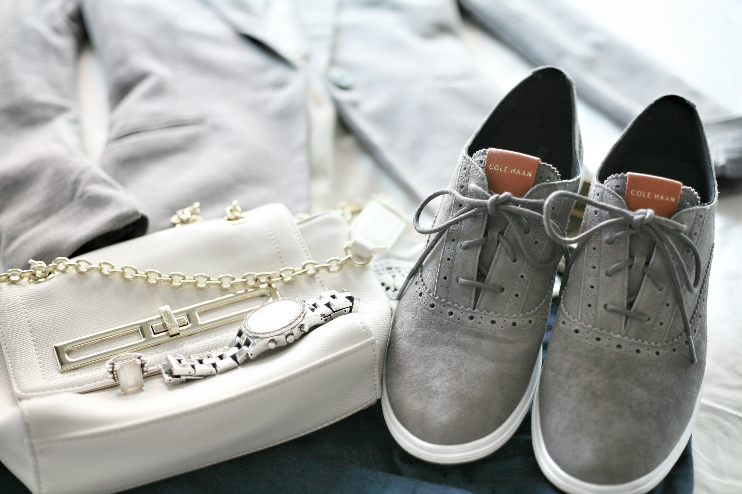 Suits and Sneaks Polished Casual Accessories