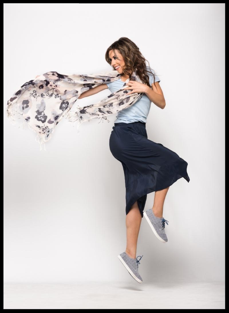 Suits & Sneaks H&M Slit Skirt Dress Down