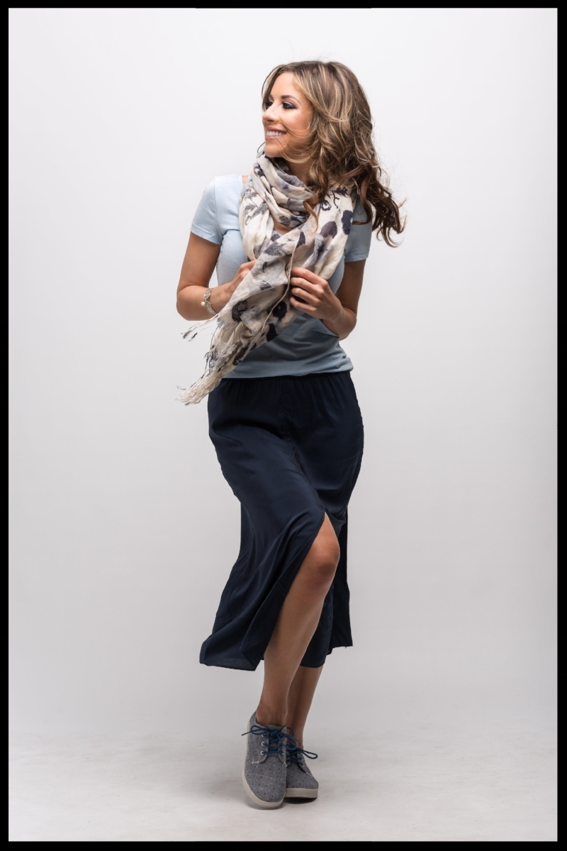 Suits & Sneaks H&M Slit Skirt Polished Casual