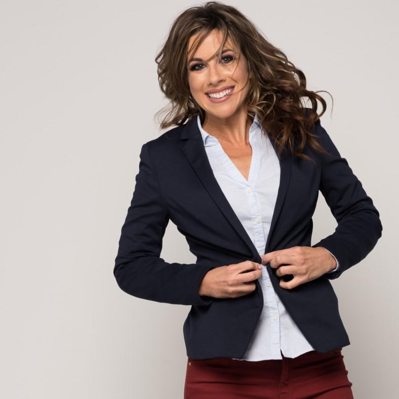 Kristin, Suits & Sneaks