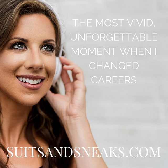 NEW PODCAST TUESDAY!! Have you ever looked at someone who made a career change and wondered what exactly was going through their minds when they decided to make the change they had been thinking about for so long?  What WAS that defining moment?  Were they scared, what were their financial responsibilities at the time, how did they make it possible, and so on? . . There was a very defining moment for me that has stayed so vivid in my mind to this day.  I will never forget it.  Head over to SUITSANDSNEAKS.COM to listen to my story told in this week's podcast! . . #suitsandsneaks #beyou9to5 #lettherealyoushinethrough #careerchange #careergoals #lifegoals #dowhatmakesyouhappy #lifechange #tiptuesday #careerpodcast #careeradvice #podcasttuesday #newpodcast #careerpodcast #recruiterpodcast #recruiting #jobhuntingadvice #worklife