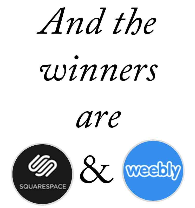 KerryAThompson.com Blog: Why I chose Squarespace and Weebly over Wix