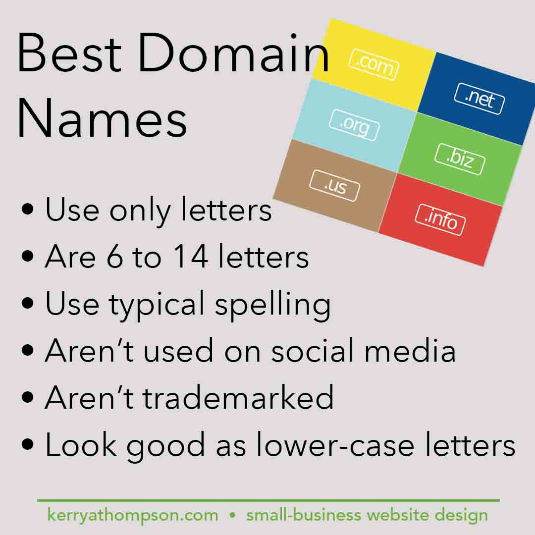 KerryAThompson.com blog: Best practices for domain names