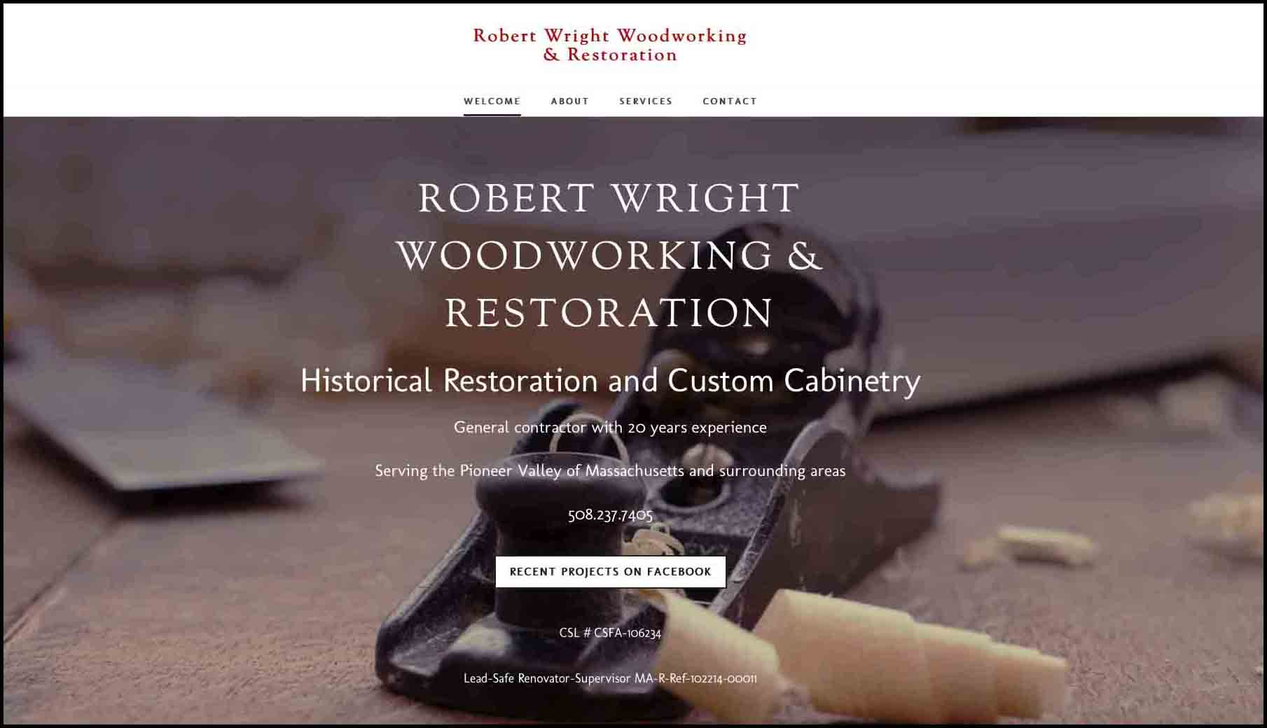 Robert Wright Woodworking & Restoration