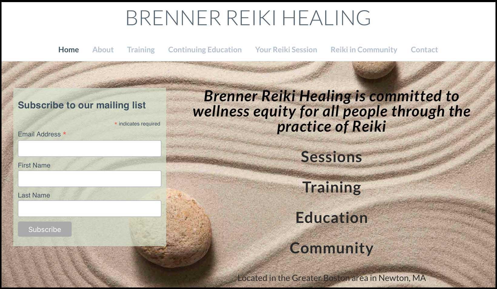 Brenner Reiki Healing