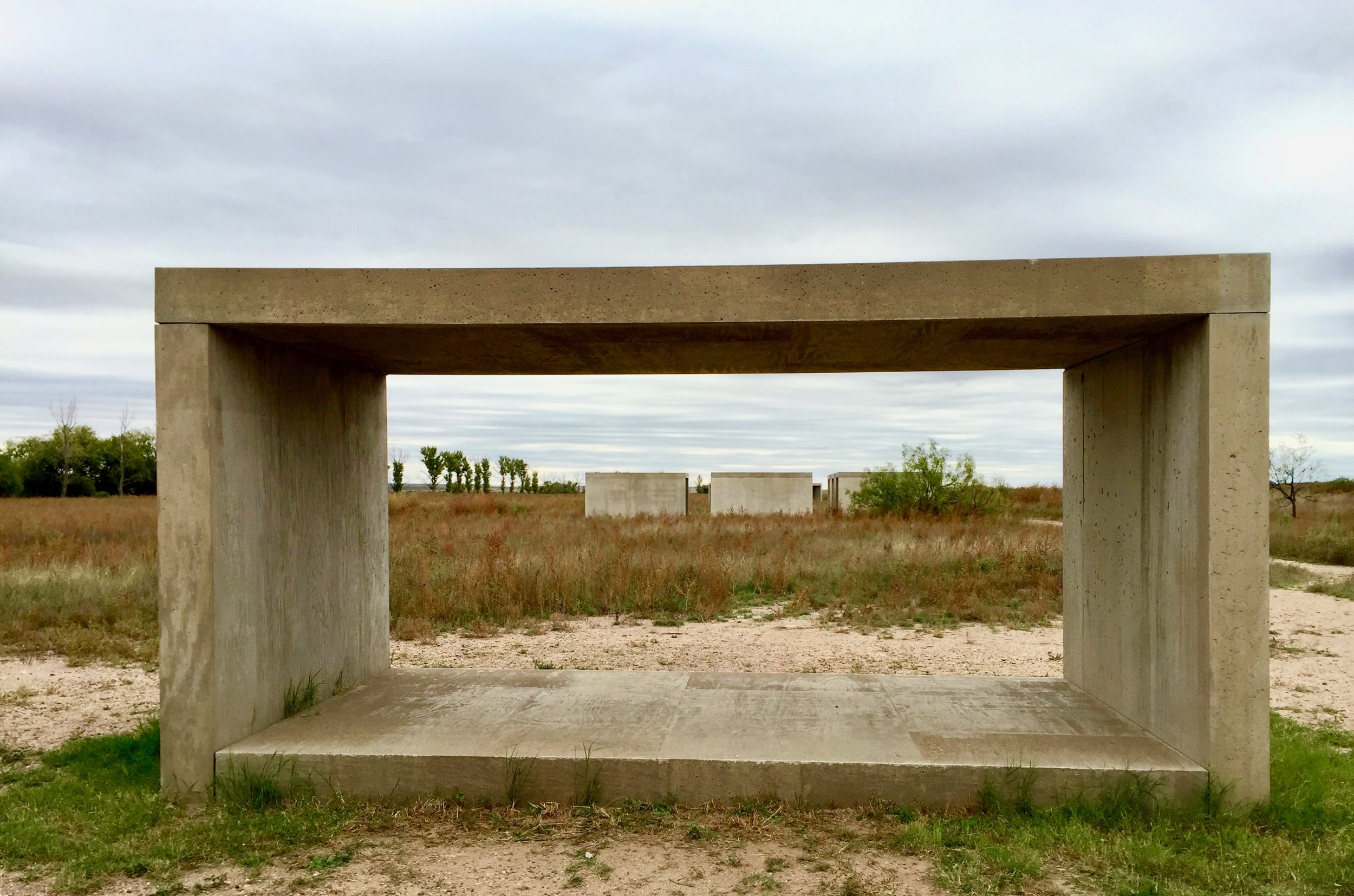 15 untitled works in concrete, 1980-1984, Donald Judd