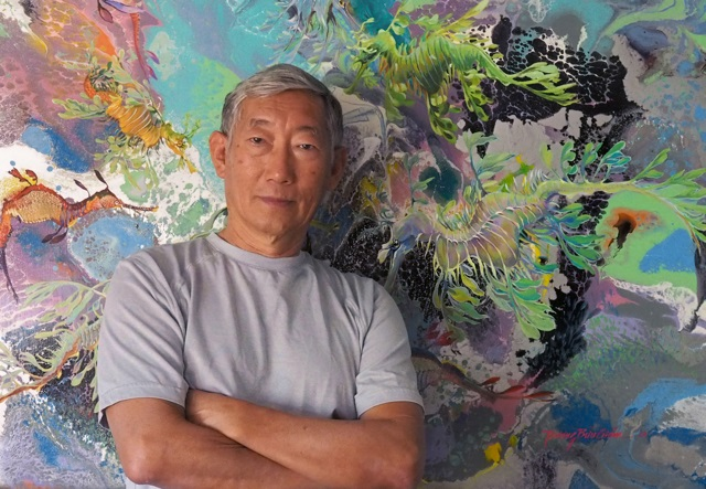 Truong Buu Giam Artist Portrait