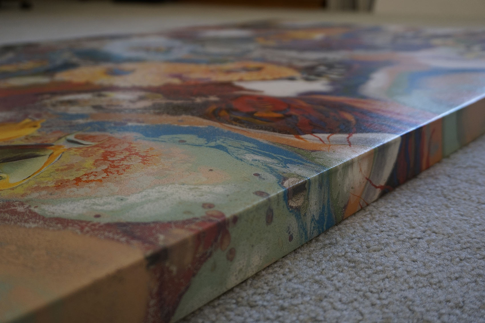 Gallery Wrapped Canvas Print (Zoomed)
