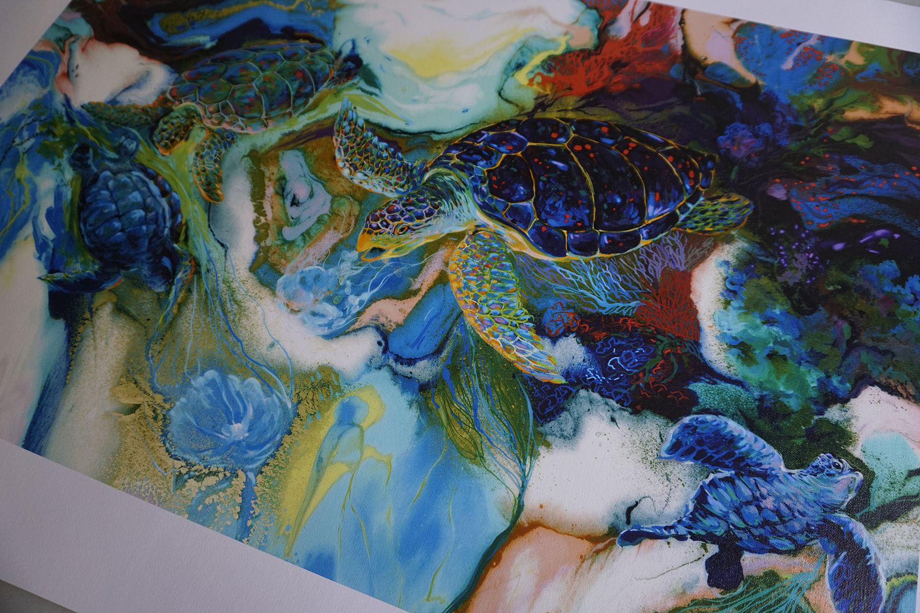 Unstretched Regular Canvas Print