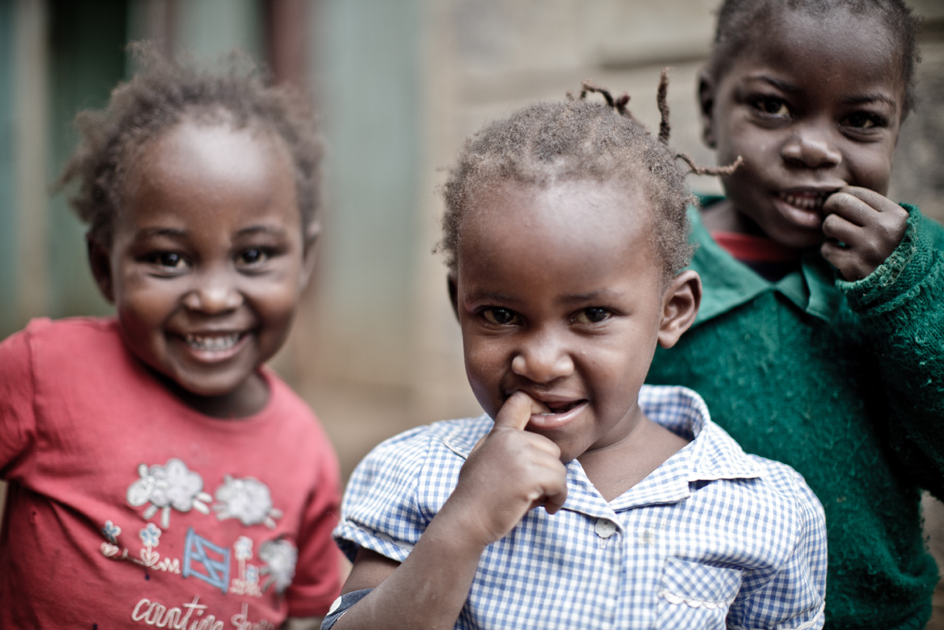Children in Kibera