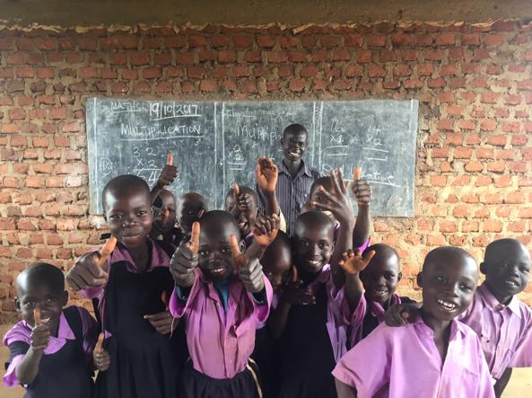 Kitgum School Children