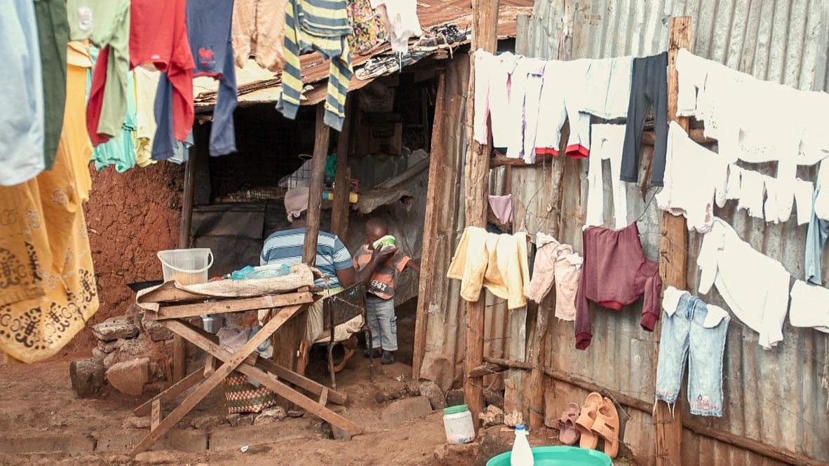 Kibera housing