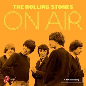 The Rolling Stones ON AIR 1963-65 - Mick Jagger, Keith Richards, Charlie Watts, Brian Jones, Bill Wyman    The Rolling Stones –On Air Track Listing  1. Come On Saturday Club, 1963 2. (I Can't Get No) Satisfaction Saturday Club, 1965 3. Roll Over Beethoven Saturday Club, 1963 4. The Spider And The Fly Yeah Yeah, 1965 5. Cops And Robbers Blues in Rhythm, 1964  6. It's All Over Now The Joe Loss Pop Show, 1964 7. Route 66 Blues in Rhythm, 1964 8. Memphis, Tennessee Saturday Club, 1963 9. Down The Road Apiece Top Gear, 1965 10. The Last Time Top Gear, 1965 11. Cry To Me Saturday Club, 1965 12. Mercy, Mercy Yeah Yeah, 1965 13. Oh! Baby (We Got A Good Thing Goin')Saturday Club, 1965  14. Around And Around Top Gear, 1964 15. Hi Heel Sneakers Saturday Club, 1964 16. Fannie Mae Saturday Club, 1965 17. You Better Move On Blues in Rhythm, 1964 18. Mona Blues In Rhythm, 1964   Bonus Tracks (Deluxe)  19. I Wanna Be Your Man Saturday Club, 1964 20. Carol Saturday Club, 1964 21. I'm moving On The Joe Loss Pop Show, 1964 22. If You Need Me The Joe Loss Pop Show, 1964 23. Walking The Dog Saturday Club, 1964 24. Confessin' The Blues The Joe Loss Pop Show, 1964 25. Everybody Needs Somebody To Love Top Gear, 1965 26. Little By Little The Joe Loss Pop Show, 1964 27. Ain't That Loving You Baby Rhythm And Blues, 1964 28. Beautiful Delilah Saturday Club, 1964 29. Crackin' Up Top Gear, 1964 30. I Can't Be Satisfied Top Gear, 1964 31. I Just Want to Make Love To You Saturday Club, 1964 32. 2120 South Michigan Avenue Rhythm and Blues, 1964