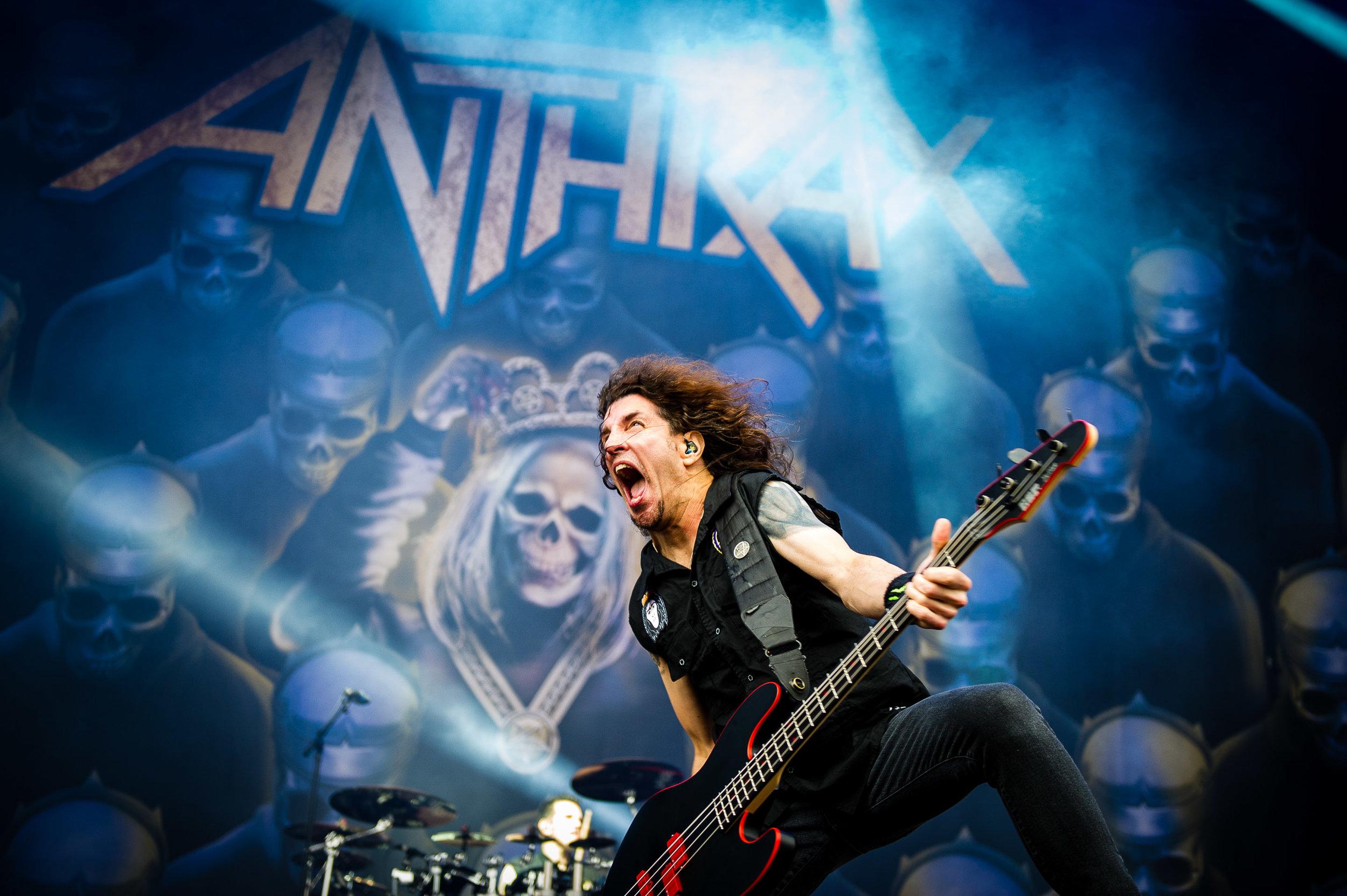 ANTHRAX photos by Matt Young