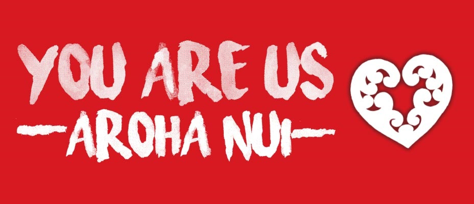 YOU ARE US/AROHA NUI. New Zealand music industry + performers unite for two huge Christchurch concert events.