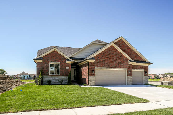 HOMESITE # 13 - SOLD - 17166 Chianti Ct, Macomb Twp MI 48042