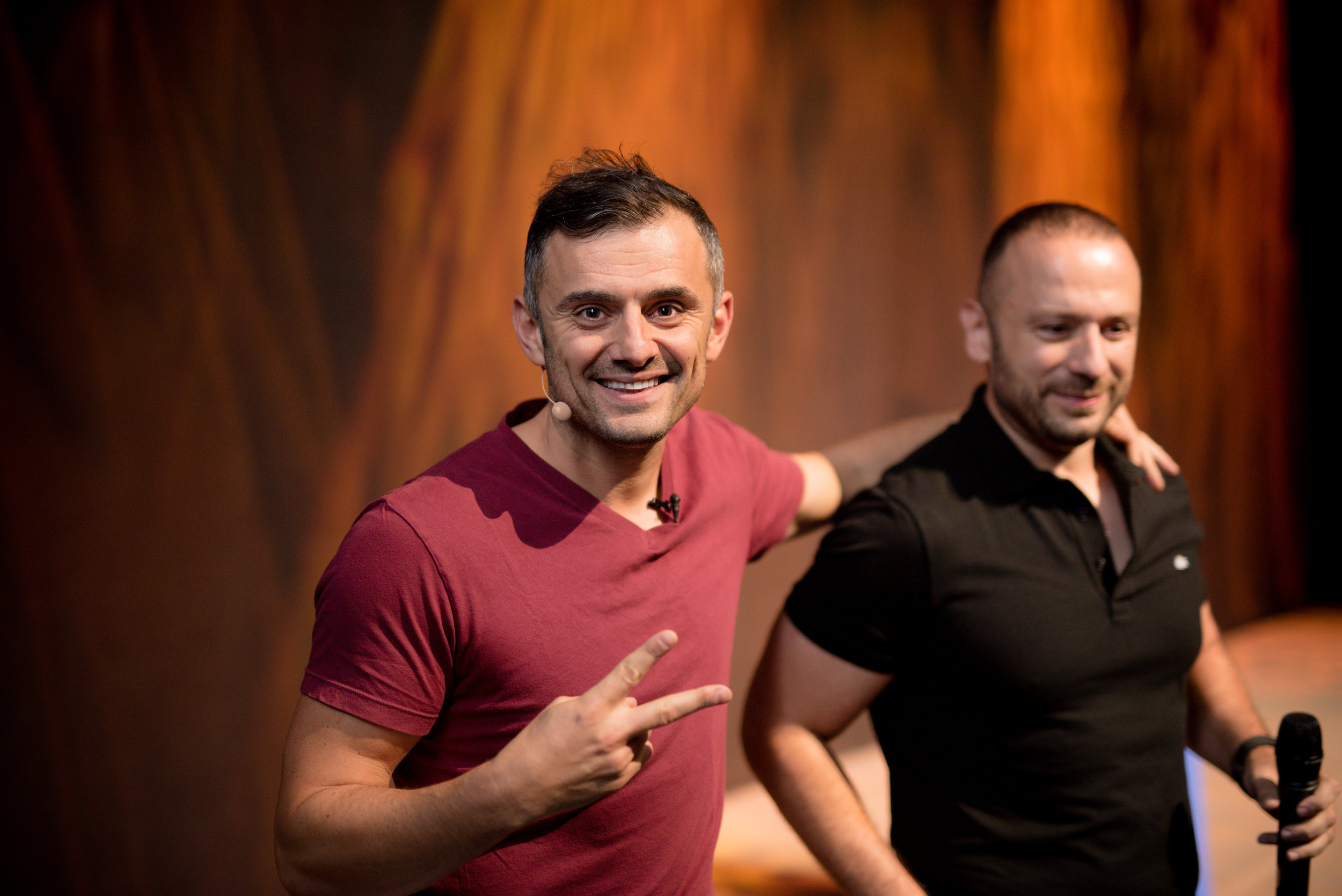 Event Photography Gary Vee x Giovanni Marsico at Arch Angels Conference