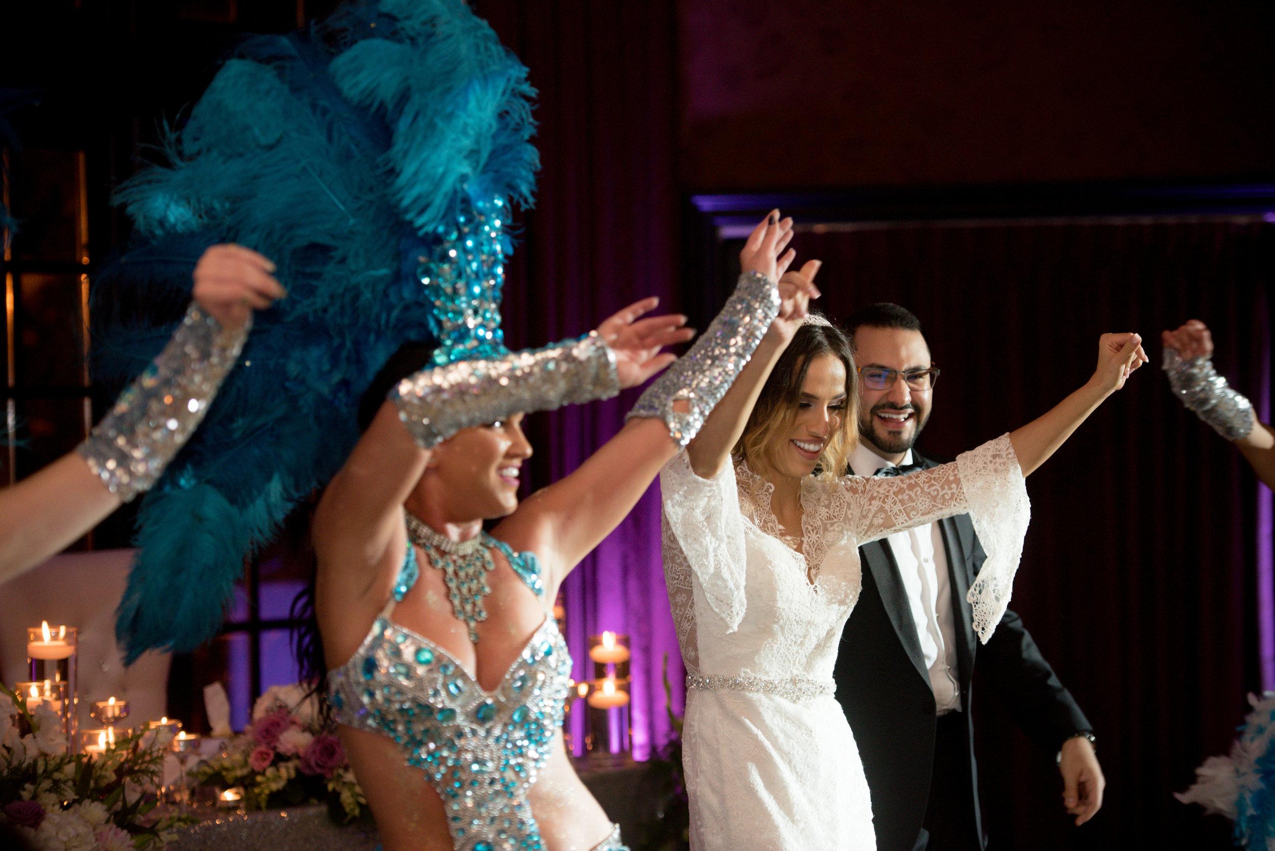 Brazilian Dancers Wedding Toronto