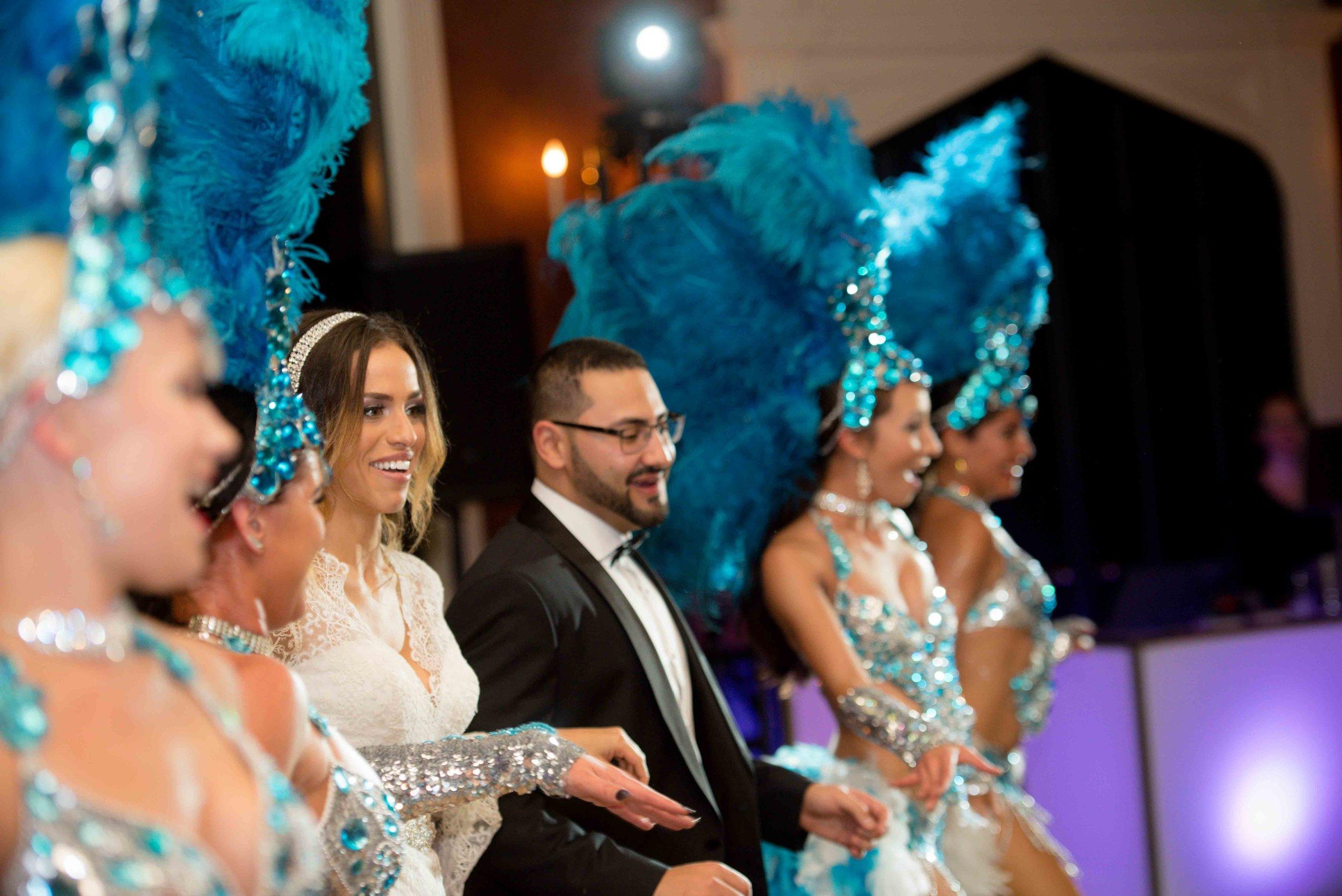 Brazilian Dancers at wedding in Toronto